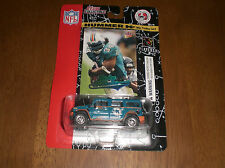 2004 DOLPHINS HUMMER H2 WITH FLEER ULTRA RICKY WILLIAMS CARD