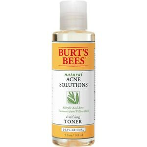 Burt's Bees Natural Acne Solutions Clarifying Toner, Oily Skin, 5 oz