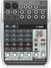 Mischpult Behringer Q802USB Xenyx Premium 8-Kanal 2Bus Mixer Audio Interface