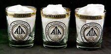 3 Vintage Amateur Trapshooting Assn ATA Member Shot Glasses Vandalia OH Tumbler