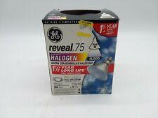 GE 777-294 Reveal 75 Halogen Bulb