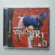 World Series Baseball 2K1 [Sega Dreamcast, 2000]