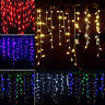 6M 600 LED String Fairy Curtain Lights Garden Home Indoor/Outdoor Party Wedding