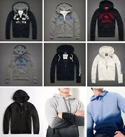 NEW YEAR´S SALE - Abercrombie & Fitch - Hollister Mens Zip Hoodie Sweater Jacket