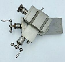 Levin Compound Cross Slide For Watchmakers Jewelers Lathe