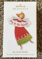 Hallmark Keepsake Joy To The World Angel Christmas Ornament New