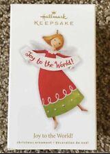 Hallmark Keepsake Joy To The World 2010 Angel Christmas Ornament New In Box
