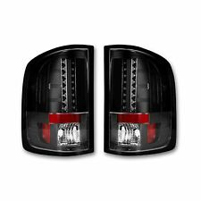 RECON 264189BK GMC Sierra 07-13 Smoked-Red Tail Lights LED