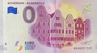 BILLET 0  EURO  SCHARDING SILBERZELLE  AUTRICHE  2018  NUMERO 1000