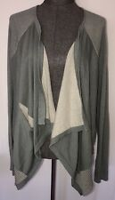 Cabi NWT Spring 2017 Pocket Cardigan Jacket #5132 Large $119 Sage Grey