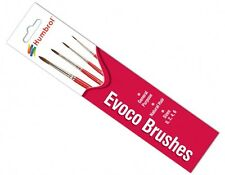 Humbrol AG4150 - Evoco Assorted Paint Brush Pack Sizes 0,2,4,6 - 1st Class Post
