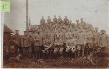 Soldats allemands  guerre 14-18 photo sur CPA lot 14