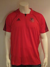 Adidas Dhb Allemagne Handball [ Gr. L ] Maillot Homme Rouge Neuf & Ovp