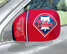 Philadelphia Phillies Mirror Cover 2 Pack - Small [NEW] MLB Auto Car Truck CDG