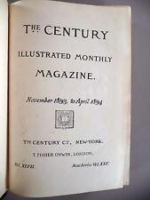 The Century Magazine - 11/1893-4/1894 -- Mark Twain - Puddin'head Wilson 1st Pub