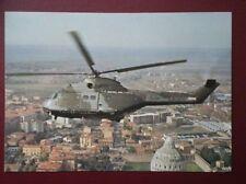 POSTCARD AIR HELICOPTER  - WESTLANDS SA 330 PUMA