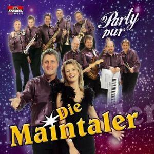 Die Maintaler (Maxi-CD) Party pur (2 tracks)