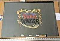 Pirates of Dark Water Title Cels and Key Master Production Background HUGE!! 30""