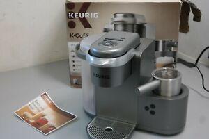 Keurig K Cafe Special Edition Coffee Maker Latte Single Serve Cup Pod Nickel 29D