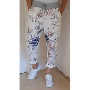 Floral Print Jeggings     One Size (10-16) ONLY £17.00