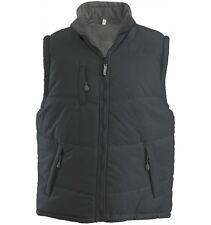 Kariban Men's Alaska Bodywarmer Gilet Jacket - Small (S) - Dark Grey - New