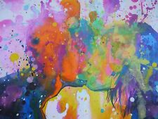 Lora Zombie Big Bang Kiss Signed Print (+banksy eelus dface nick walker photos)