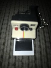 Worlds Coolest Smallest POLAROID LAND CAMERA Toy Miniature Mini OneStep Keychain