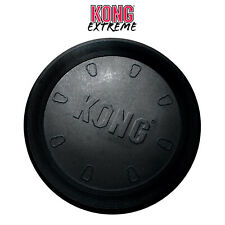 KONG Extreme Flyer Frisbee Fetch Rubber Strong Durable Toy Flexible