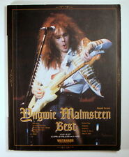YNGWIE MALMSTEEN BEST BAND SCORE JAPAN GUITAR TAB