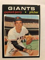 1971 Topps Gaylord Perry  Card #140 San Francisco Giants