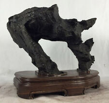 996.SUISEKI BONSAI -- Natural chinese Ying stone --英石- qsz62134616