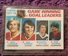 1978 Topps Bill Barber - #69 Hockey Card