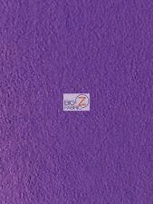 """SOLID POLAR FLEECE ANTI-PILL FABRIC - 30 Colors - 60"""" WIDTH SOLD BY THE YARD"""