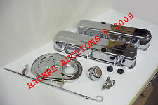 Big Block Chevy Chrome Engine Dress Up Kit Tall Valve Covers 396 454 427 65-90