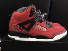 Jordan Spizike Sneaker Size 11in Men's. Red/Black/Dark Grey/White