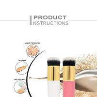 Pro Flat Foundation Face Brush Powder Contour Makeup Brush Cosmetic Tool