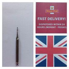 Carbide Milling Cutter  CNC 1.0mm Dia 5.0mm Flute 3.2mm Shank UK Stock Free Post