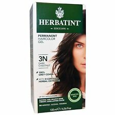 Herbatint Permanent Herbal Haircolour Gel 3N Dark Chestnut - 135 mL / 4.56 oz
