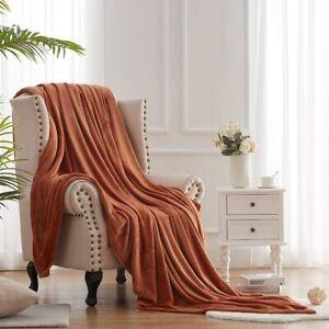 Hboemde Fleece Blanket Twin Size Soft Cozy Lightweight Bed Blanket Microfiber Pl