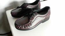 SAS Take Time Burgundy Womens Orthopedic Shoes Size 9 M (#144)