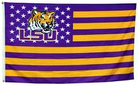 Louisiana State Tigers US LSU Stars&Stripes Flag Banner 3X5 ft US Shipper