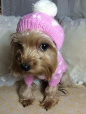 EXTRA LARGE PINK PET POMPOM JUMPER