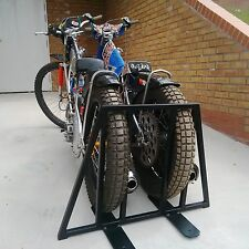 Double Speedway Free Standing Bike Stand Transport Support Frame Jawa GM Stuha