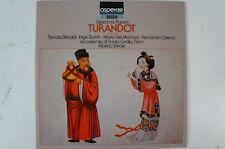 Puccini Turandot Auszüge Tebaldi Borkh del Monaco Alberto Erede Accademia (LP15)