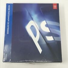 New Sealed Adobe Photoshop CS5 Extended Windows Retail Full 65049654 32/64 Bit
