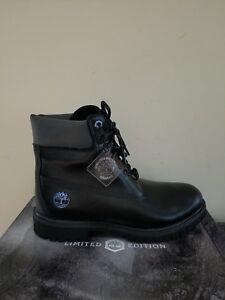 Timberland Women's Black Ice 6-Inch Premium Waterproof Boots Limited Edition NIB