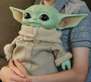 Yoda Baby 11' Plush Toy The Child Mandalorian GWD85 Star Wars Mattel Age 3 Yrs+