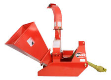 "Titan Wood Chipper 3 Point Attachment Tractor PTO 4""x10"" Automatic Tree Brush BX42"