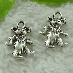 Free Ship 360pcs tibet silver bear charms 21X15mm B3863