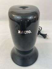 X Acto W1730 Electric Pencil Sharpener Top Load Tested Elmers Black Home School
